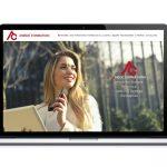 Création de site internet pour un organisme de formation professionnelle - Vue ordinateur portable 17 pouces